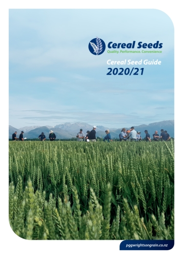 Download our 2020/21 Cereal Seed Guide